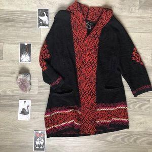 Lucky Brand | Jacquard Sweater Cardigan | M/L